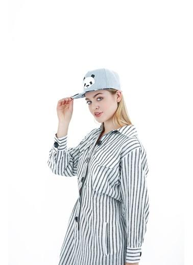 Laslusa Panda Hip Hop Snapback Şapka